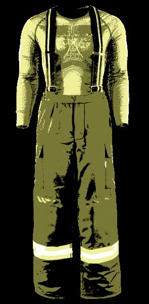 Einsatzhose HuPF 4 waschen & imprägnieren